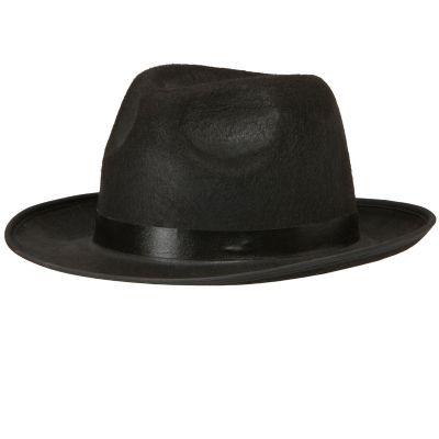 party maskerad gangsterhatt svart hattar mode   accessoarer   webshop ambro  kvalitet. d2b53a1501d71
