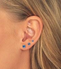 medicinsk plast örhängen